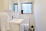 The Main Bathroom at James Street Morpeth Three Bedroom Townhouse.