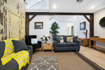 The Living Room at James Street Morpeth Three Bedroom Townhouse.